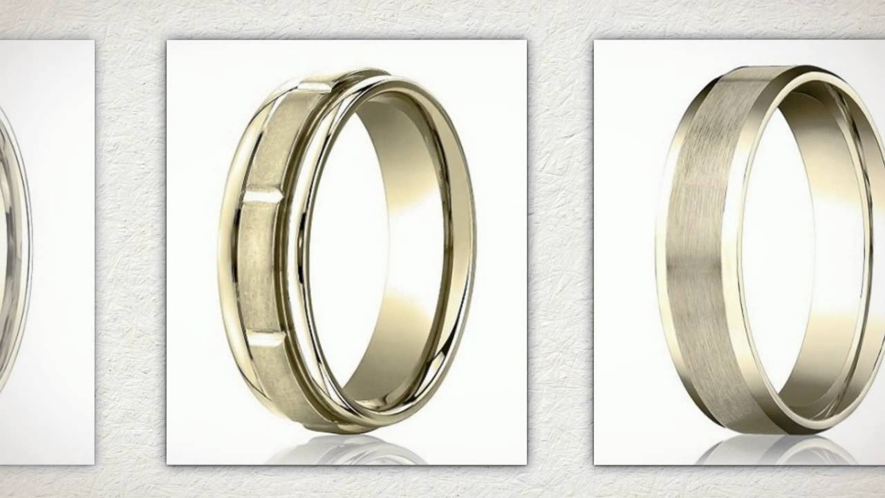 Mens Gold Wedding Rings For 50Th Anniversary – Youtube Regarding Current 50Th Anniversary Rings (View 17 of 25)