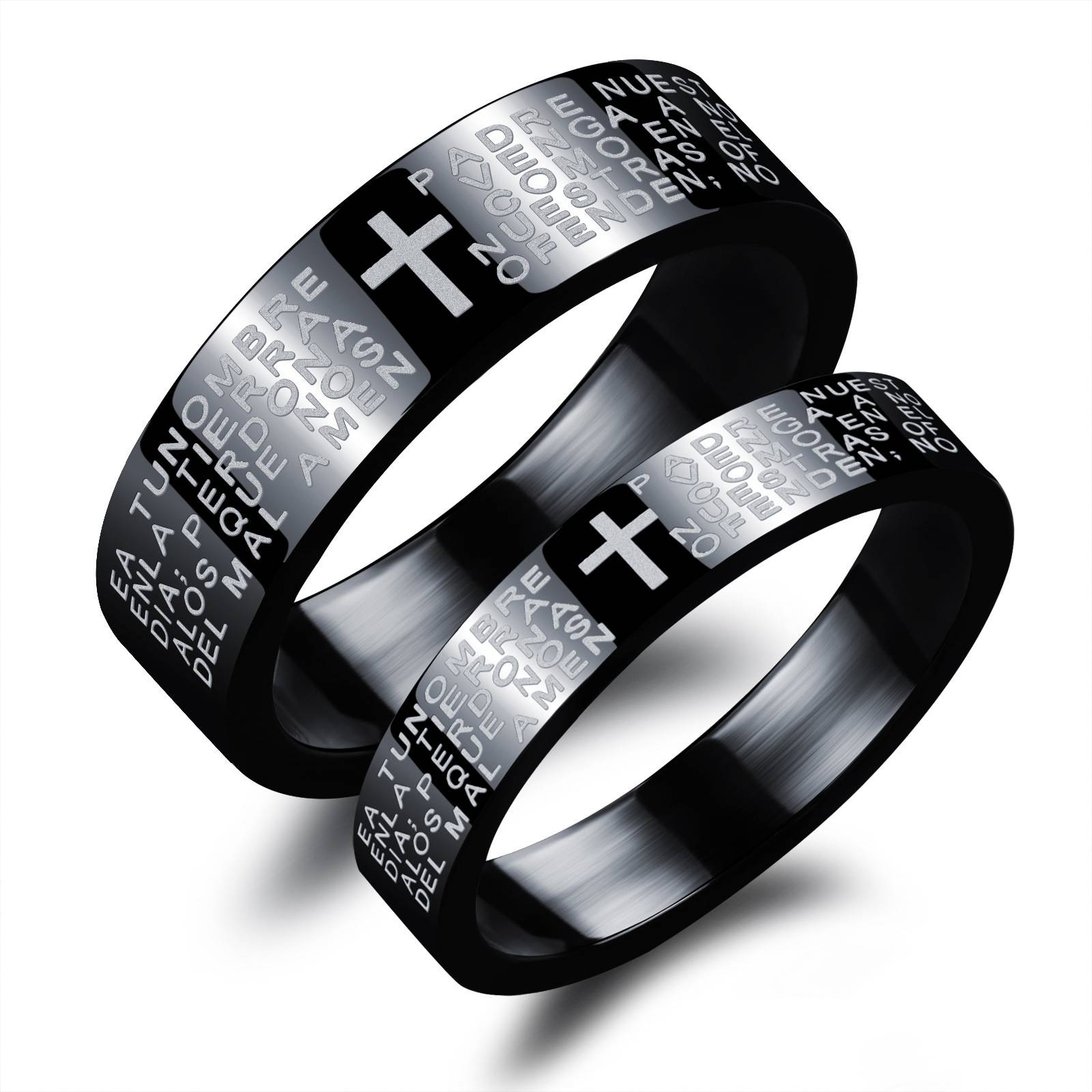 Nice Steel Wedding Anniversary Gifts | Topup Wedding Ideas For 2017 His And Hers Anniversary Rings (View 14 of 25)
