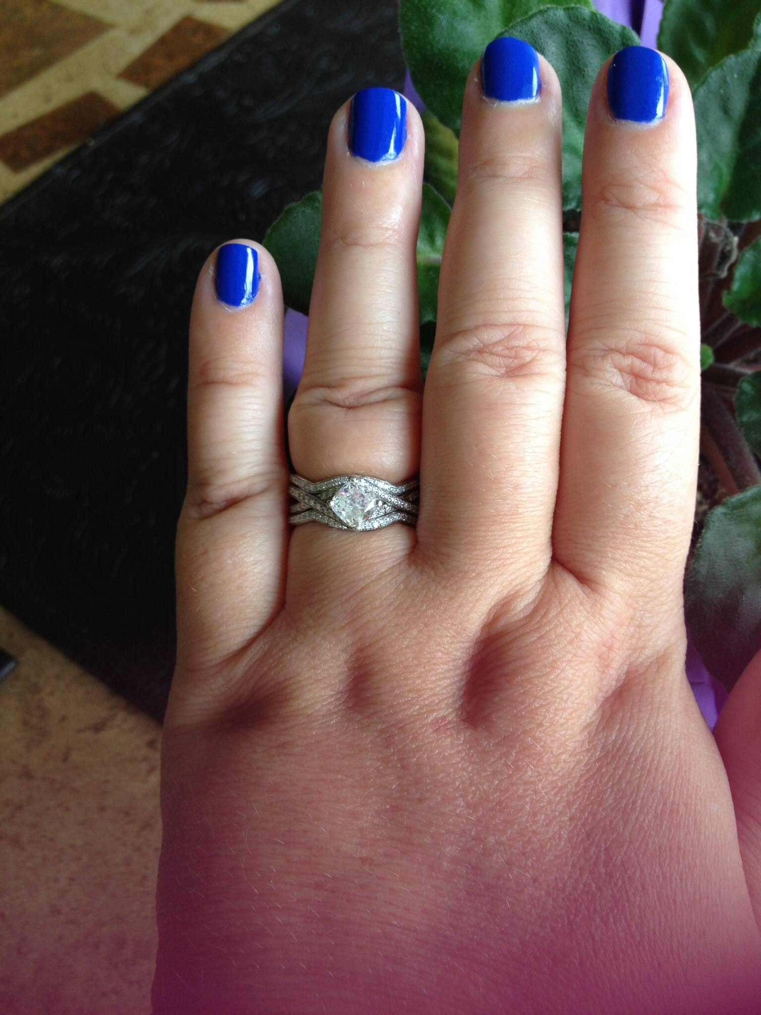 One Year Anniversary Surprise! – Weddingbee With Recent 1 Year Anniversary Rings (Gallery 5 of 15)