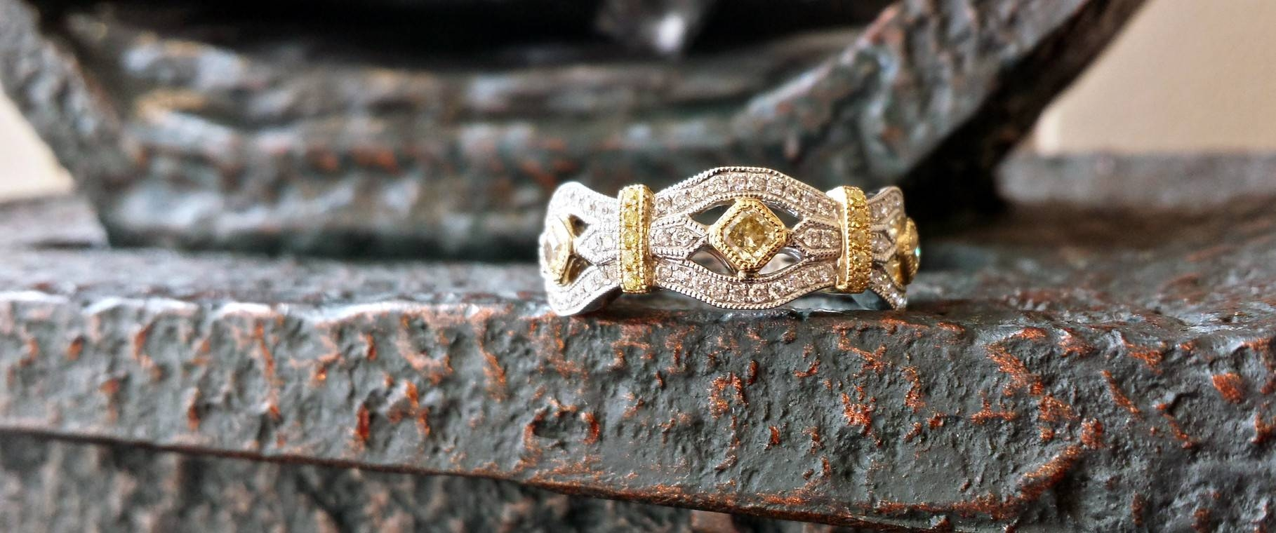 Our Collection – Johnson Jewelers Of Stillwater Throughout Most Recent Two Tone Anniversary Rings (View 16 of 25)