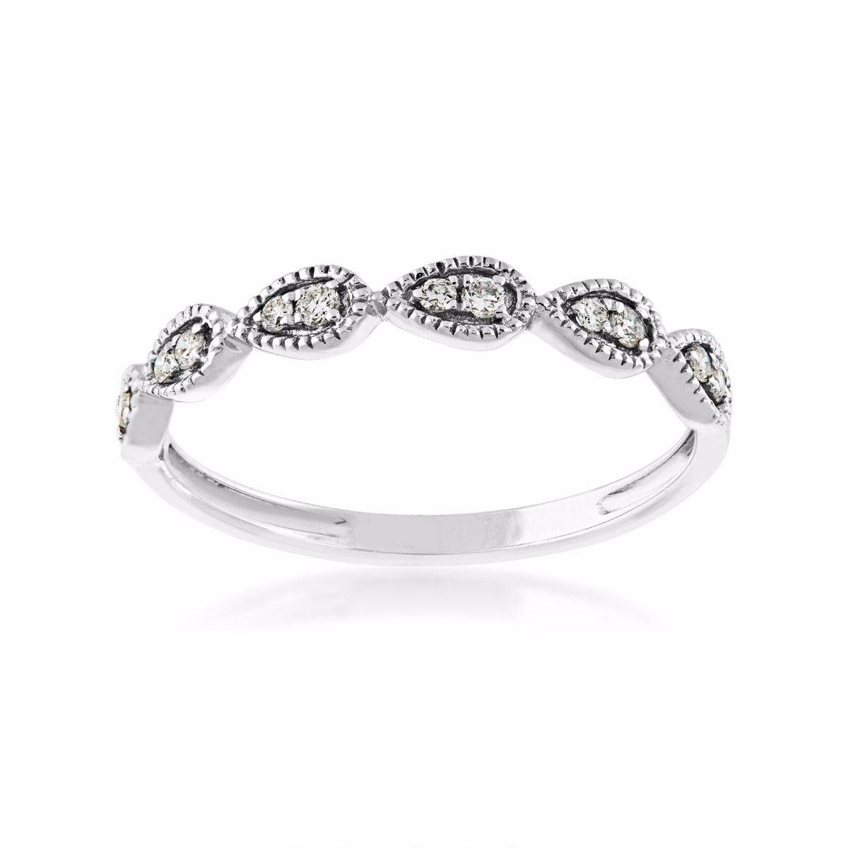 Perfect Match Stackable Diamond Anniversary Ring In 10 Kt. White Regarding 2017 Stackable Anniversary Rings (Gallery 13 of 25)