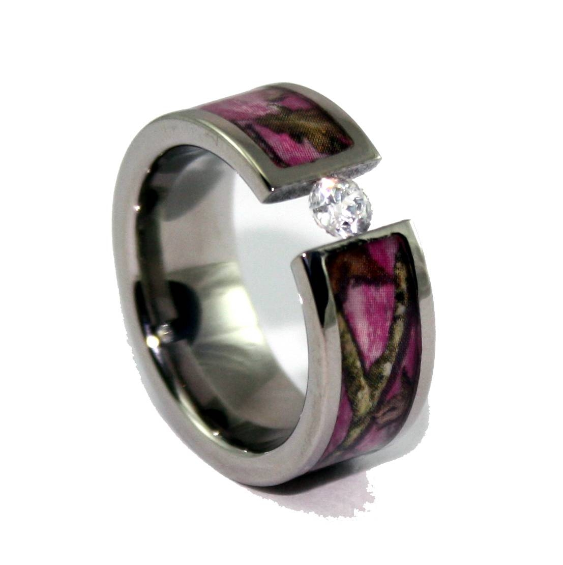 Pink Camo Wedding Rings Design – Margusriga Baby Party Throughout 2017 Camo Anniversary Rings (View 15 of 25)