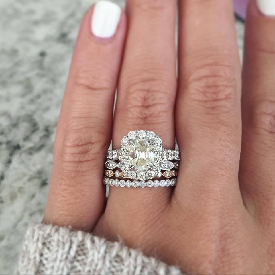 Ring Stacks We Need To Talk About – Designers & Diamonds Pertaining To Current Stacking Anniversary Rings (View 18 of 25)