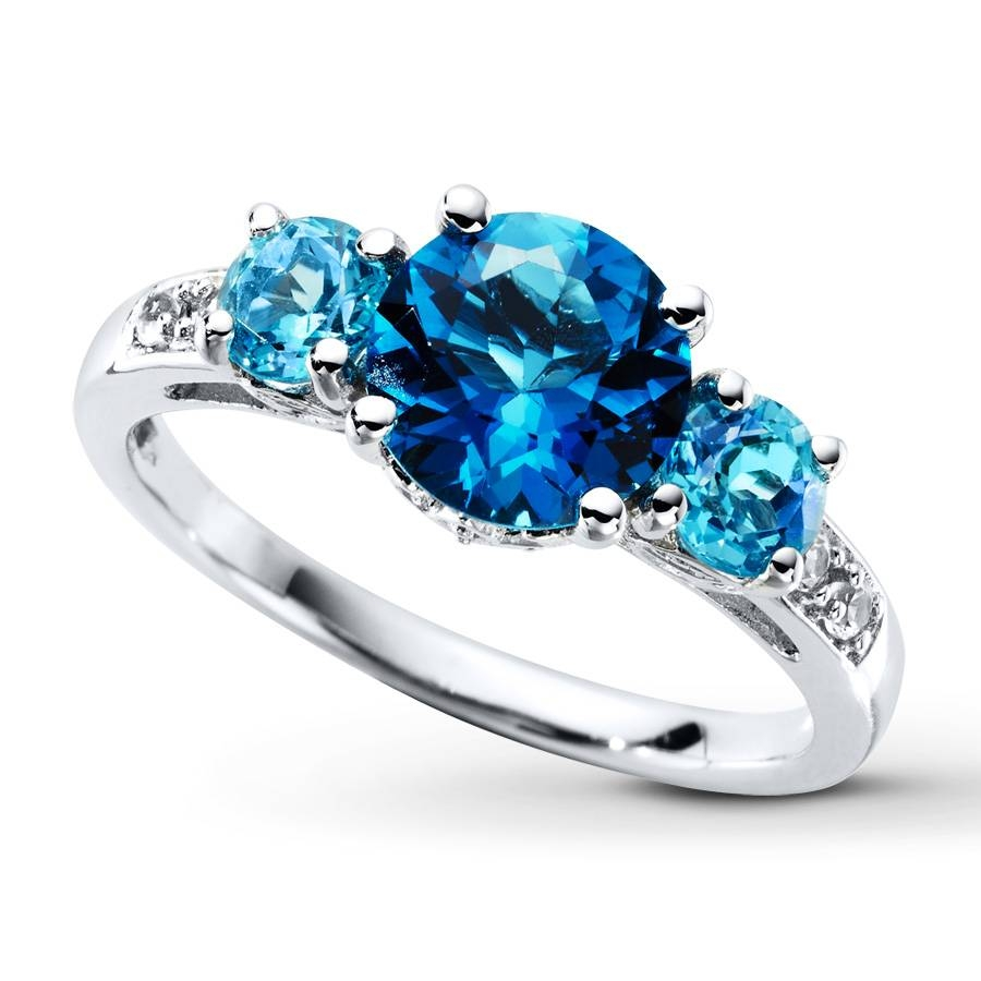 Rings : Art Deco Engagement Rings Diamond Anniversary Rings Aqua Intended For 2017 Blue Diamond Anniversary Rings (View 6 of 25)
