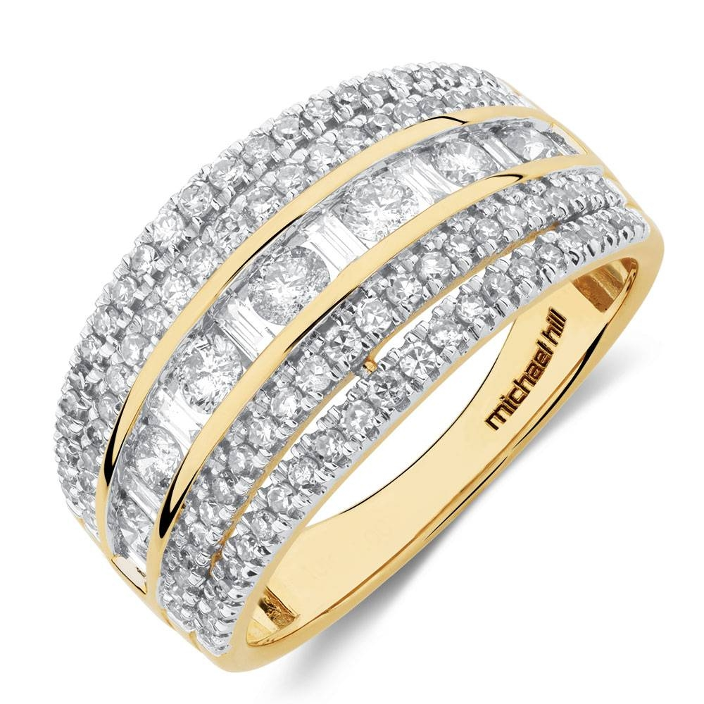 Rings – Diamond, Gold & Silver Rings At Michaelhill.au Pertaining To Most Up To Date Anniversary Rings Settings Without Stones (Gallery 21 of 25)