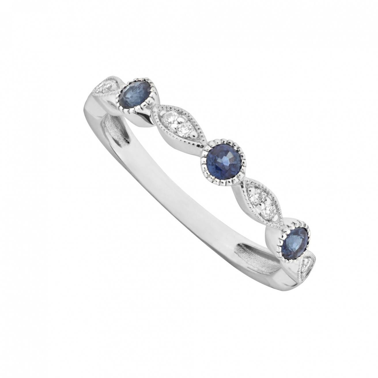 Rings : Eternity Ring Diamond Eternity Rings Sapphire Eternity Within 2018 Diamond And Sapphire Anniversary Rings (View 18 of 25)