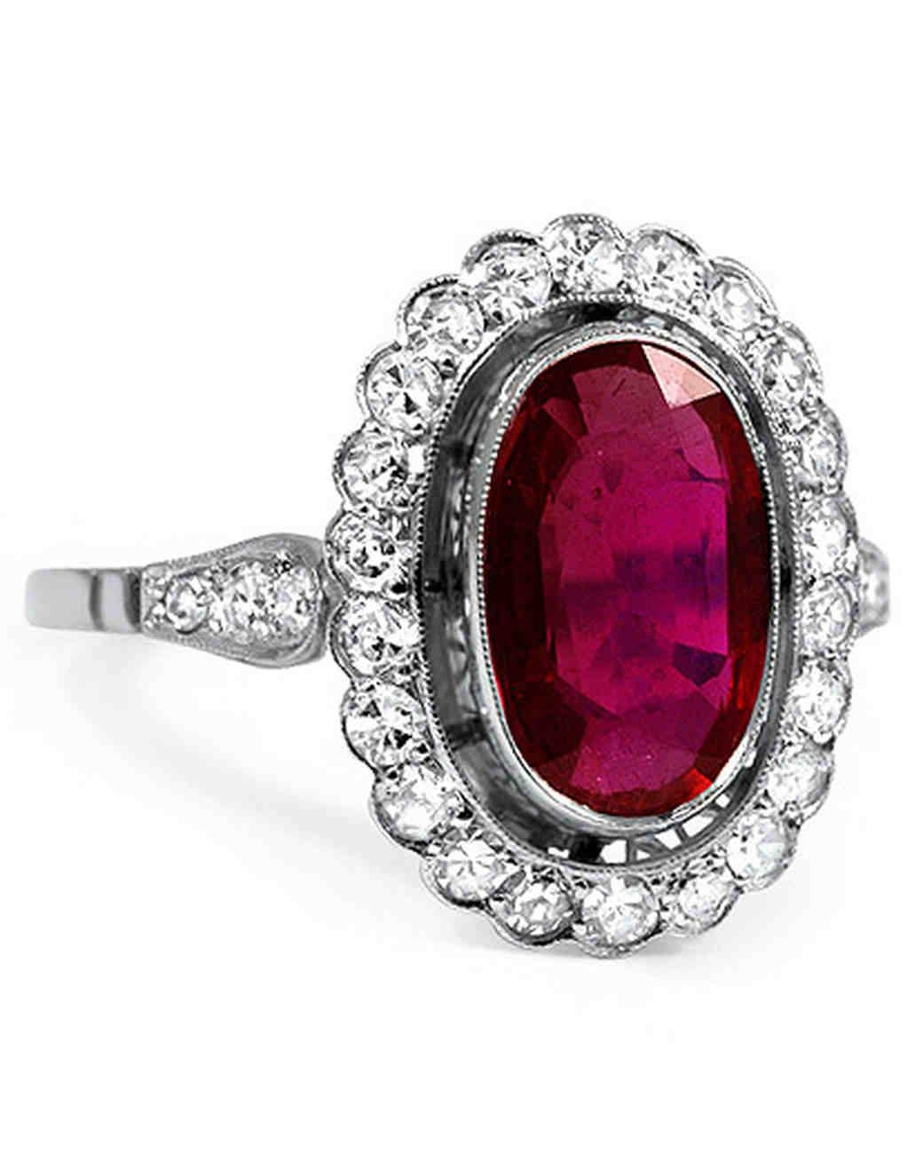 Ruby Wedding Rings: The Symbol Of Love | Home Design Articles Within Most Current Ruby Anniversary Rings (View 10 of 25)