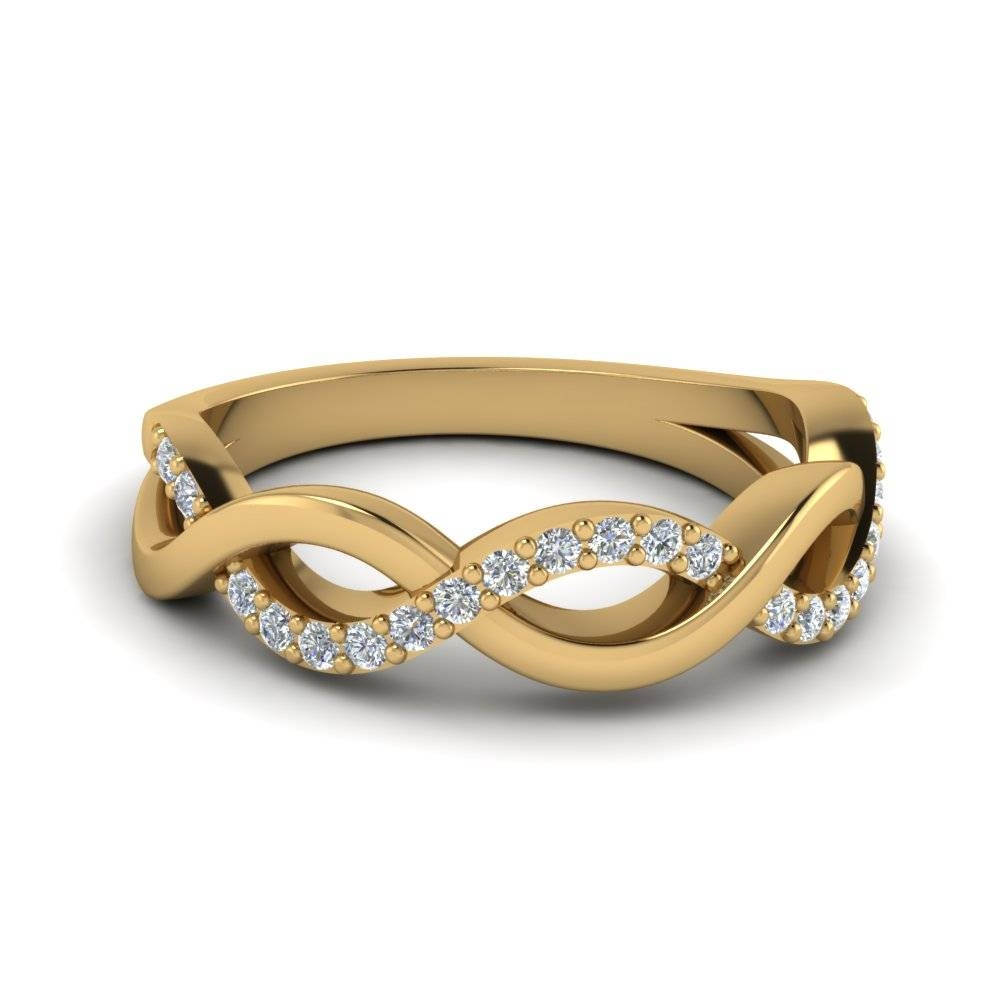 Shop For Affordable Wedding Rings And Bands Online | Fascinating Intended For Recent Yellow Gold Anniversary Rings For Womens (View 17 of 25)