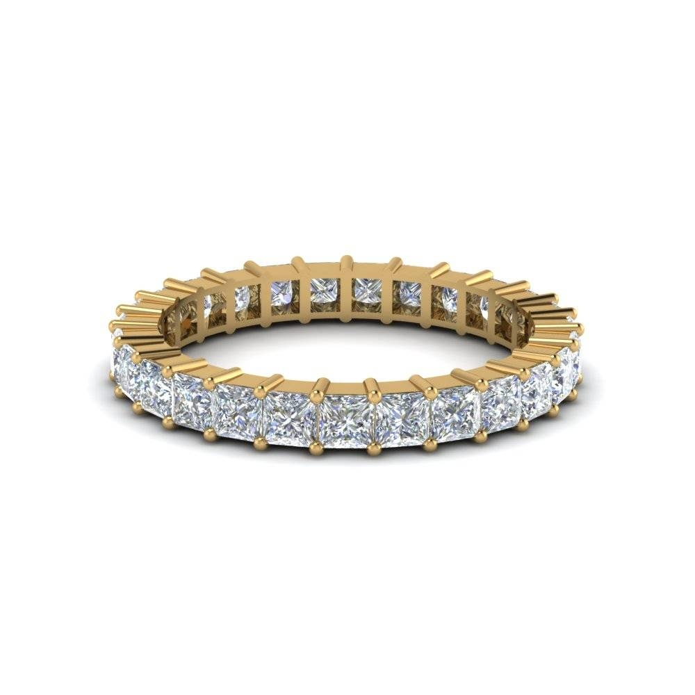 Shop Our Stunning Yellow Gold Eternity Rings| Fascinating Diamonds Within Current Yellow Diamond Anniversary Rings (View 25 of 25)
