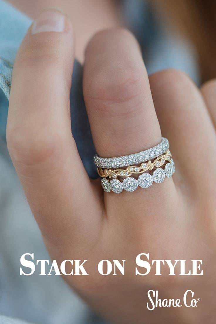 Stackable Wedding Bands – 2017 Creative Wedding Ideas – Paris With Regard To 2017 Stacking Anniversary Rings (View 6 of 25)