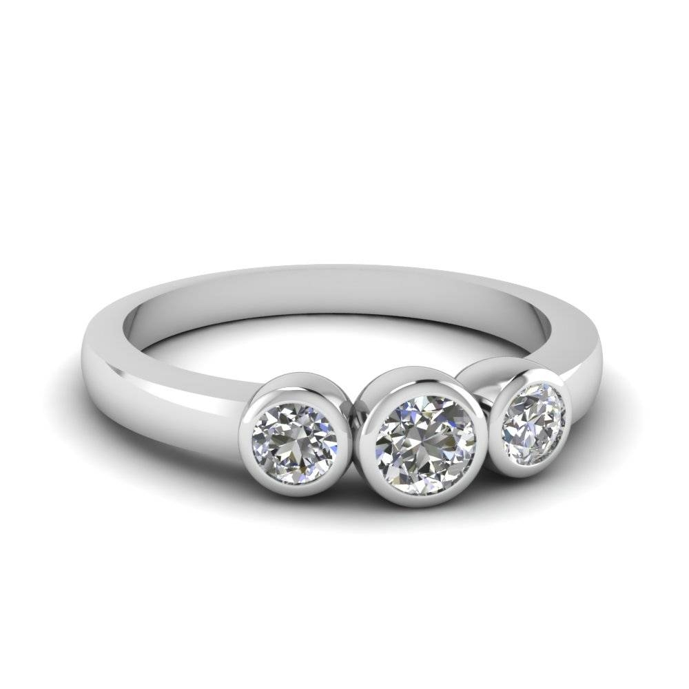 Three Stone Diamond Anniversary Ring | Fascinating Diamonds For Most Recently Released Three Stone Diamond Anniversary Rings (View 17 of 25)