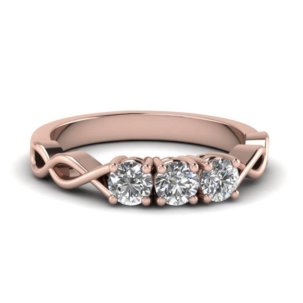 Three Stone Diamond Anniversary Ring | Fascinating Diamonds Regarding Most Popular 3 Diamond Anniversary Rings (View 18 of 25)