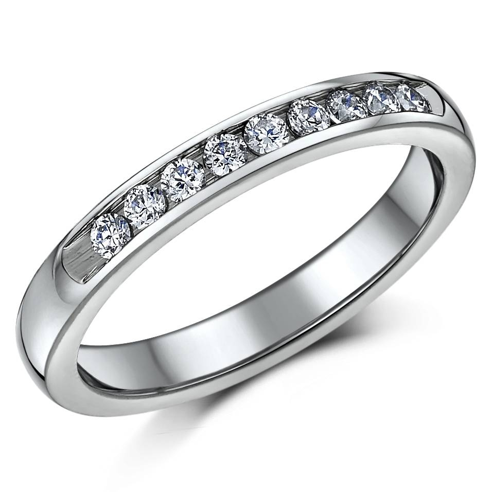 Titanium Diamond Rings And Mens Engagement Diamond Eternity Rings In 2018 Titanium Anniversary Rings (View 10 of 25)