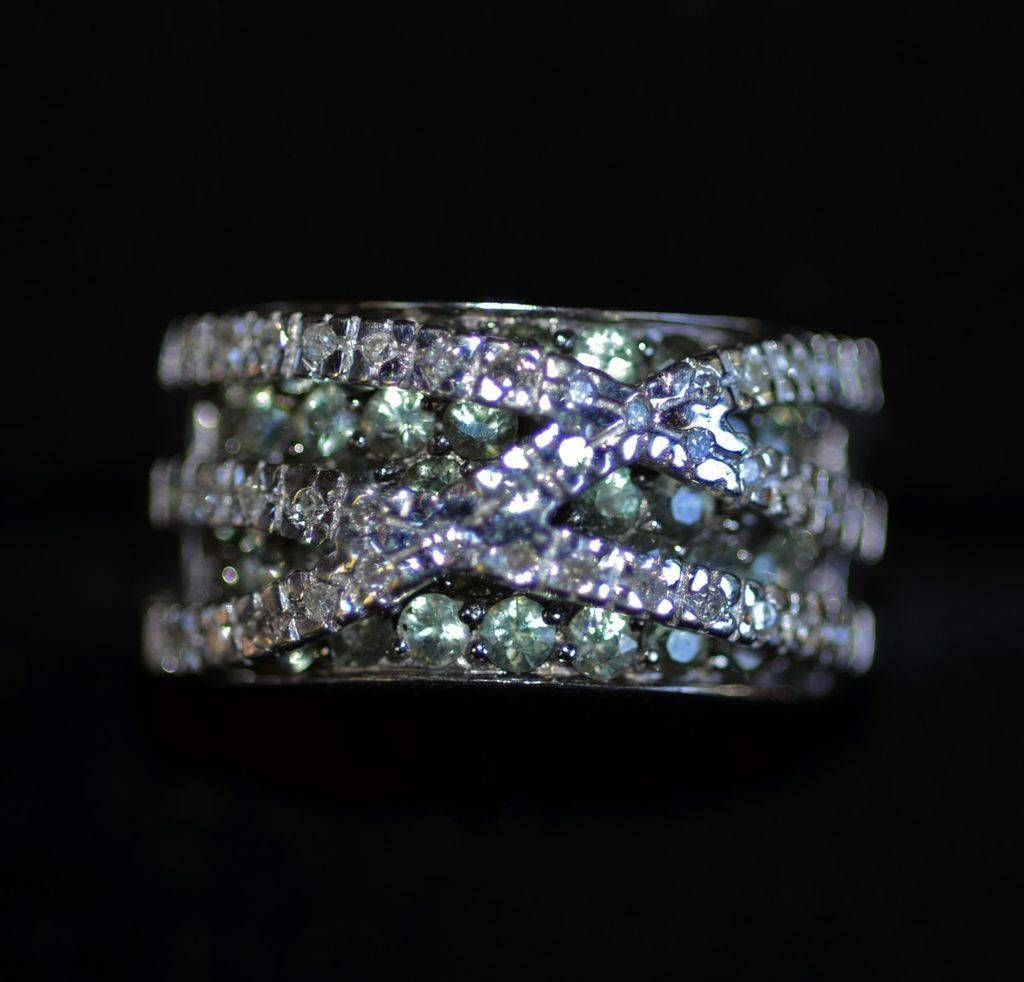 Unique Anniversary Rings For Her Pertaining To Best And Newest Unique Diamond Anniversary Rings (Gallery 19 of 25)
