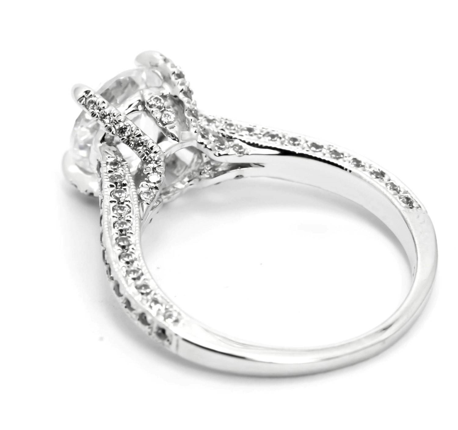 Unique Solitaire Diamond Rings | Wedding, Promise, Diamond In Most Current Unusual Anniversary Rings (Gallery 13 of 25)