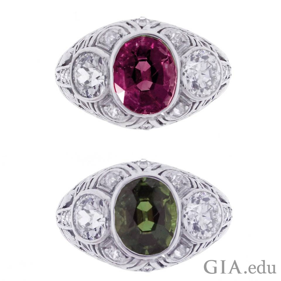Wedding Anniversary Gemstone List: Years 21 – 60 In Recent 40th Anniversary Rings (Gallery 14 of 25)