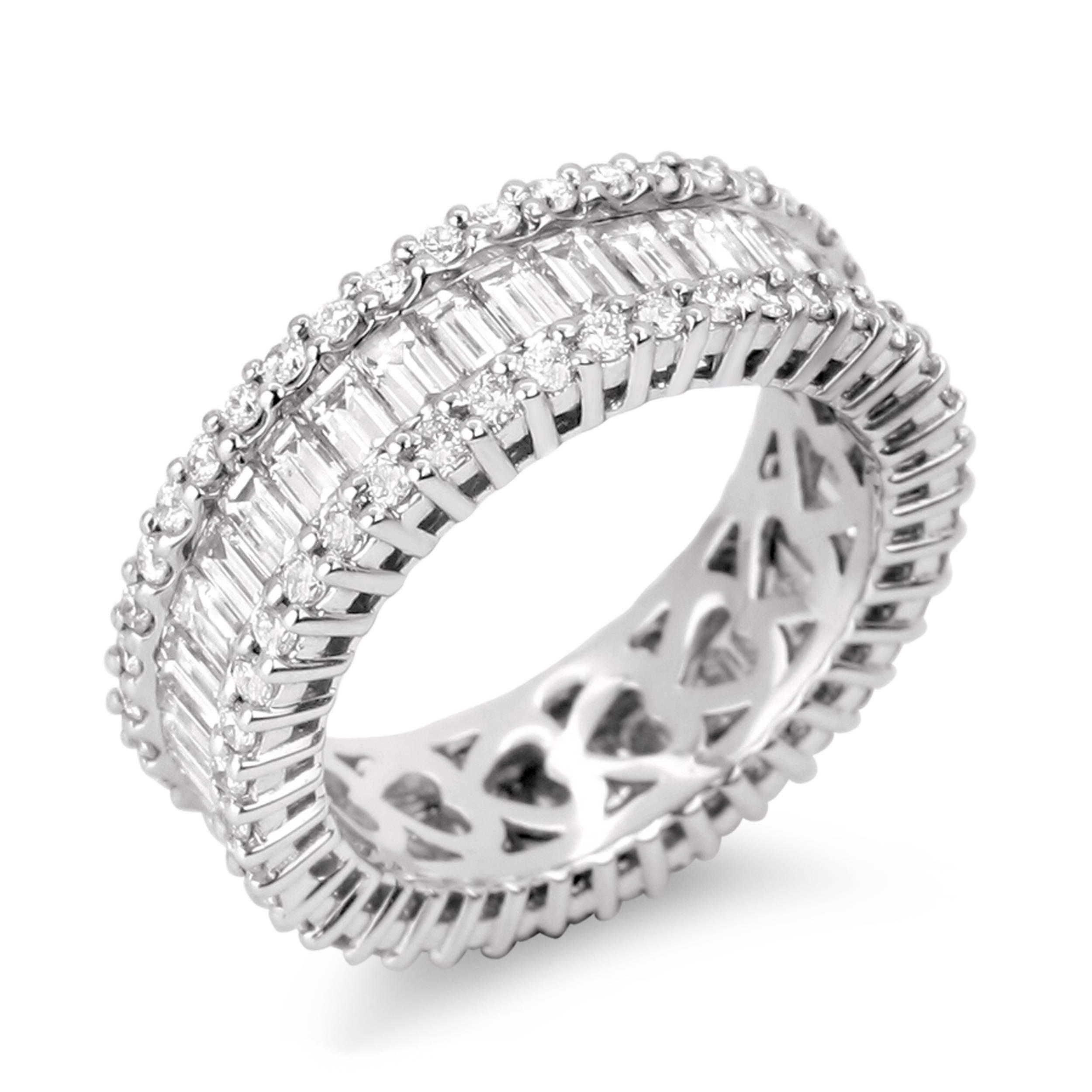 Wedding Anniversary Rings Diamonds | Wedding Ideas Pertaining To Recent 3 Diamond Anniversary Rings (View 22 of 25)