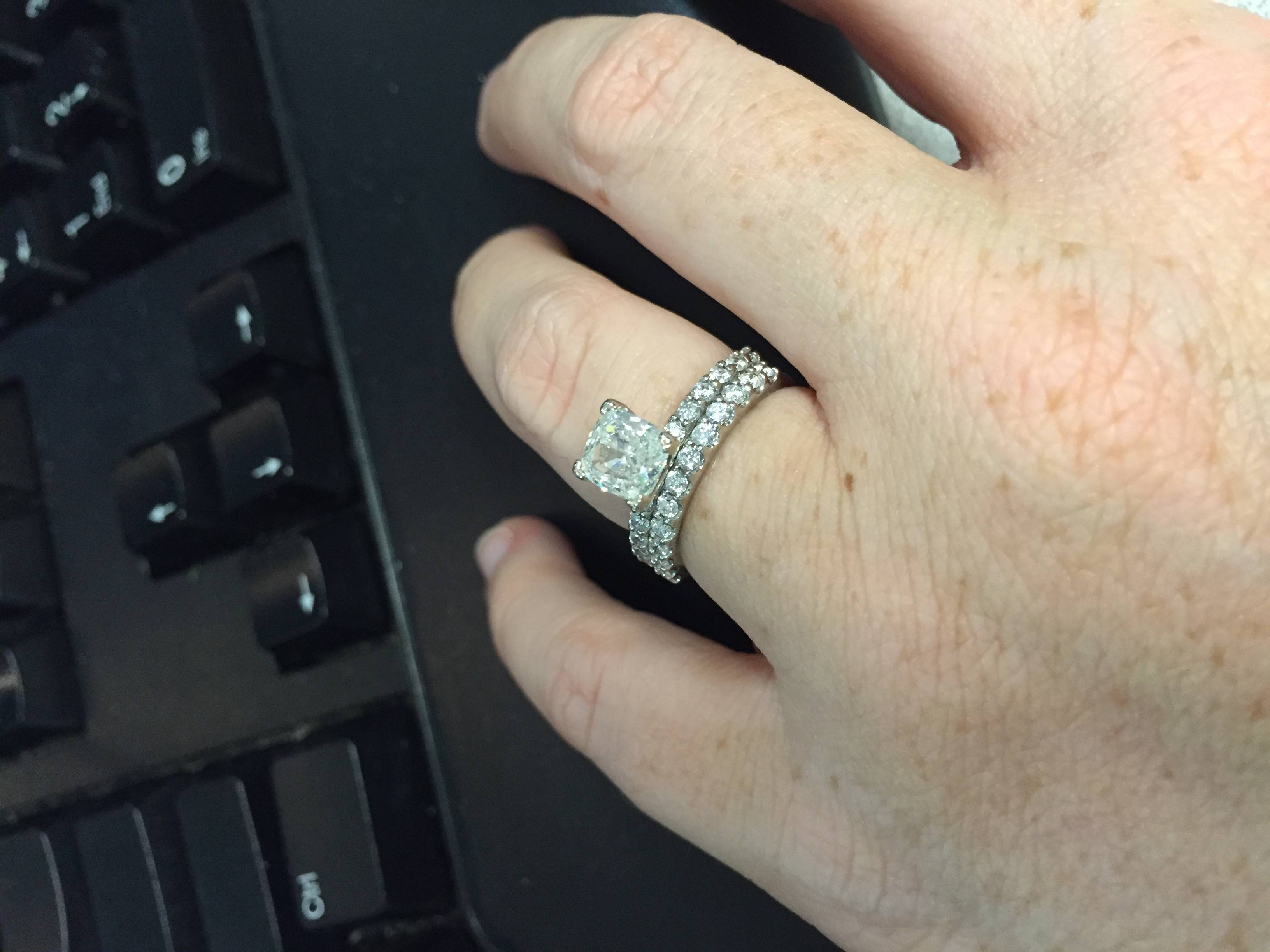 Wedding Band – Weddingbee With Best And Newest One Year Anniversary Rings (Gallery 11 of 25)