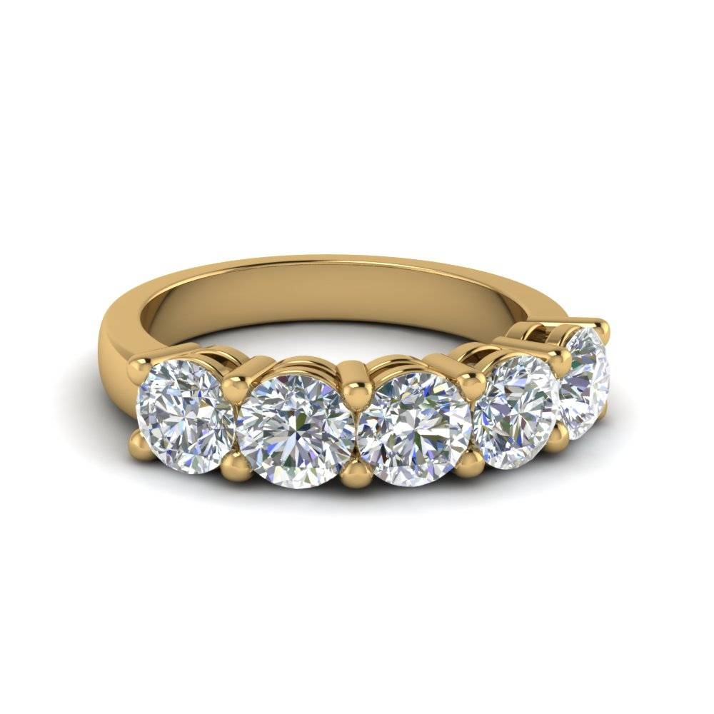 Wedding Bands & Wedding Rings For Women | Fascinating Diamonds Intended For Latest Yellow Gold Anniversary Rings For Womens (Gallery 11 of 25)