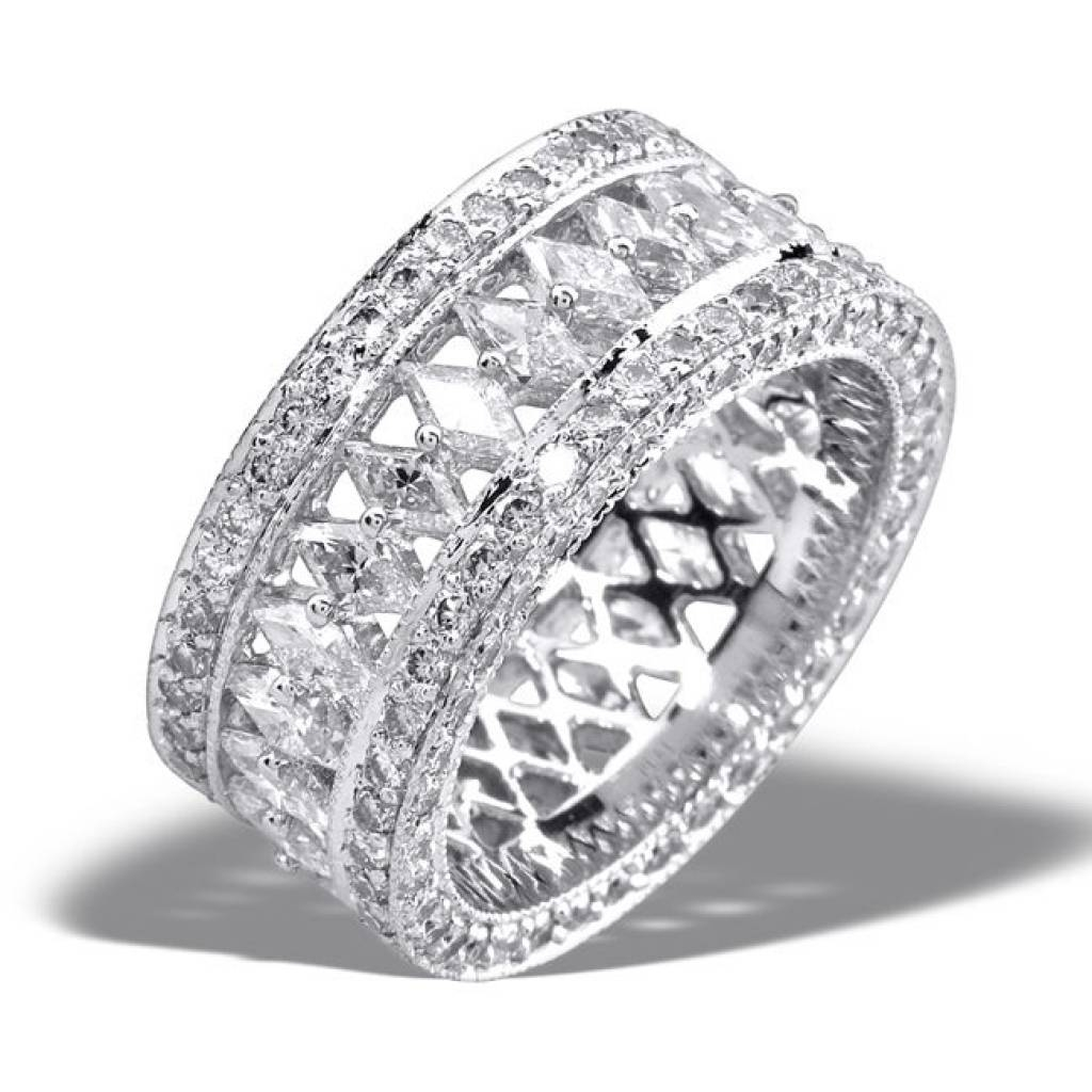 Wedding Ring : Best 25 Diamond Anniversary Rings Ideas On Pertaining To Most Popular 5 Diamond Anniversary Rings (View 25 of 25)