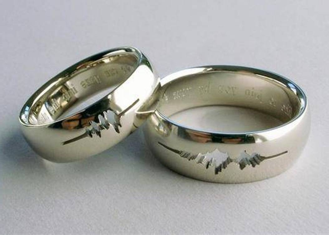 Wedding Ring Inscriptions For Him | Wedding Ideas Pertaining To 2017 Engraving Anniversary Rings (Gallery 25 of 25)