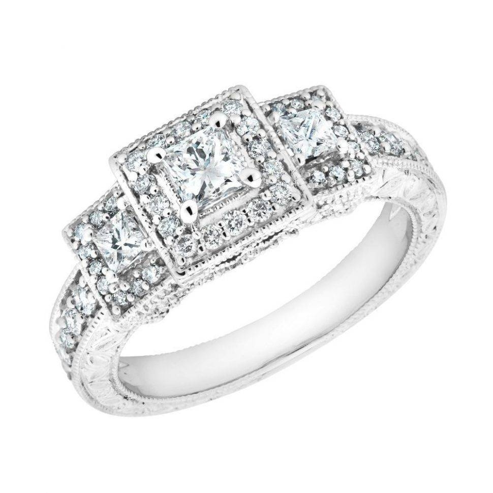Wedding Rings : 3 Diamond Wedding Rings How To Pick A Wedding Band Pertaining To 2017 3 Stone Anniversary Rings Settings (View 24 of 25)