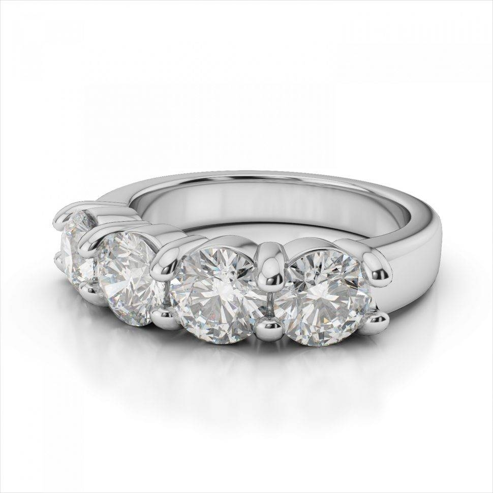 Wedding Rings : 3 Stone Anniversary Ring Estate Anniversary Rings With Regard To 2018 3 Stone Anniversary Rings (View 21 of 25)