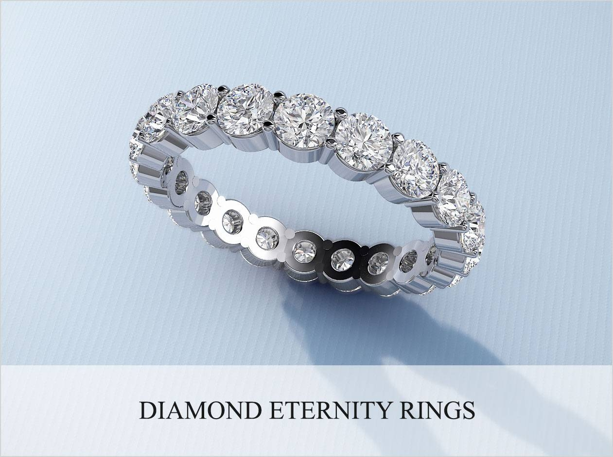 Wedding Rings : 3 Stone Diamond Anniversary Rings Zales For Most Popular One Year Anniversary Rings (View 21 of 25)