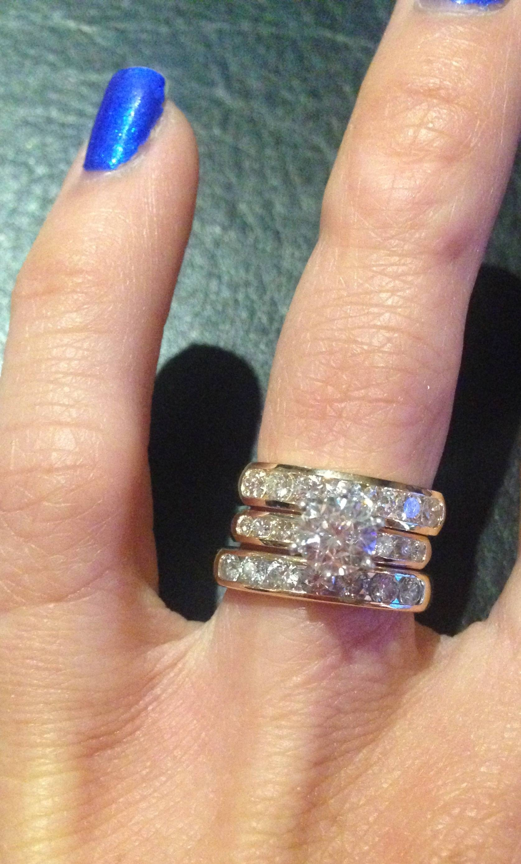 Wedding Rings : 3 Stone Diamond Anniversary Rings Zales Inside Current One Year Anniversary Rings (Gallery 12 of 25)