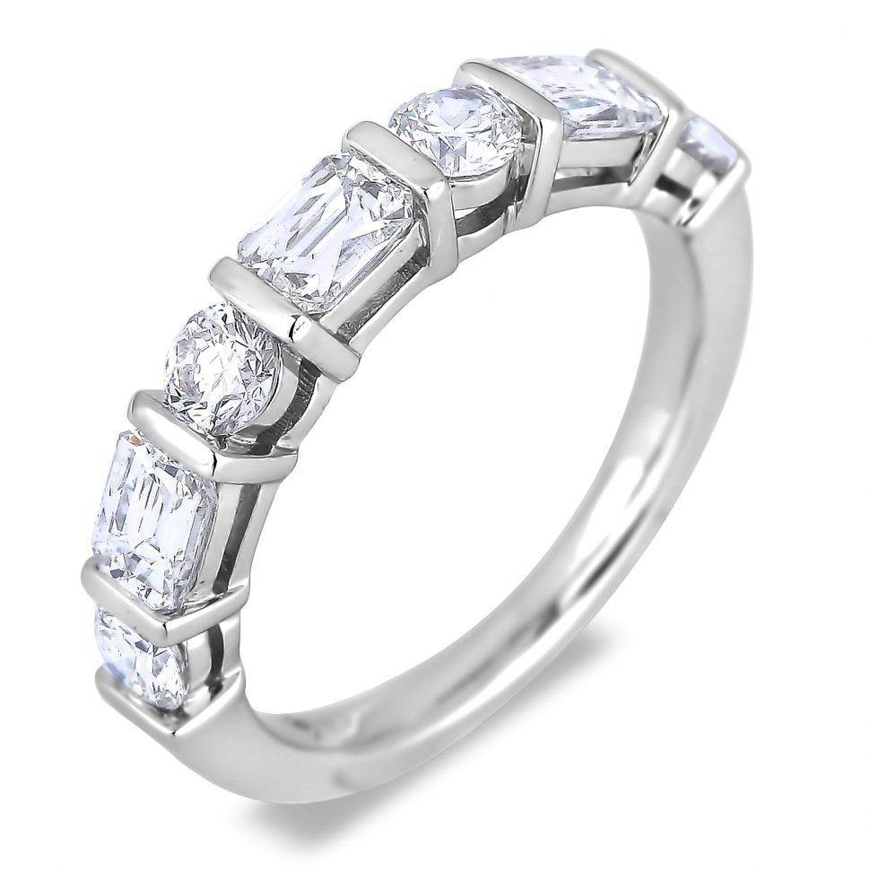 Wedding Rings : 3 Stone Diamond Ring Settings Zales Anniversary In Current 25 Year Anniversary Rings (View 22 of 25)