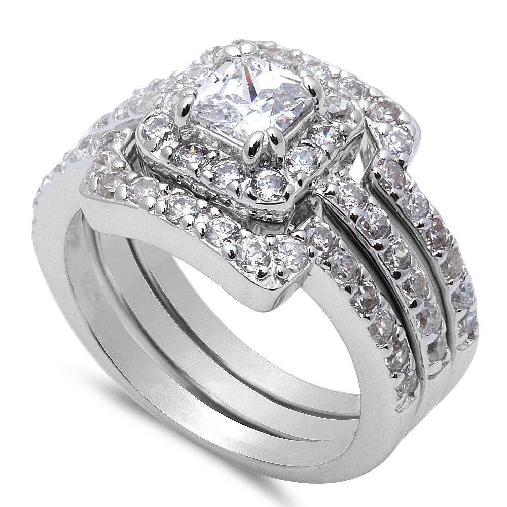 Wedding Rings : Anniversary Rings On Sale Three Stone Diamond Regarding Most Popular Womens Anniversary Rings (View 19 of 25)