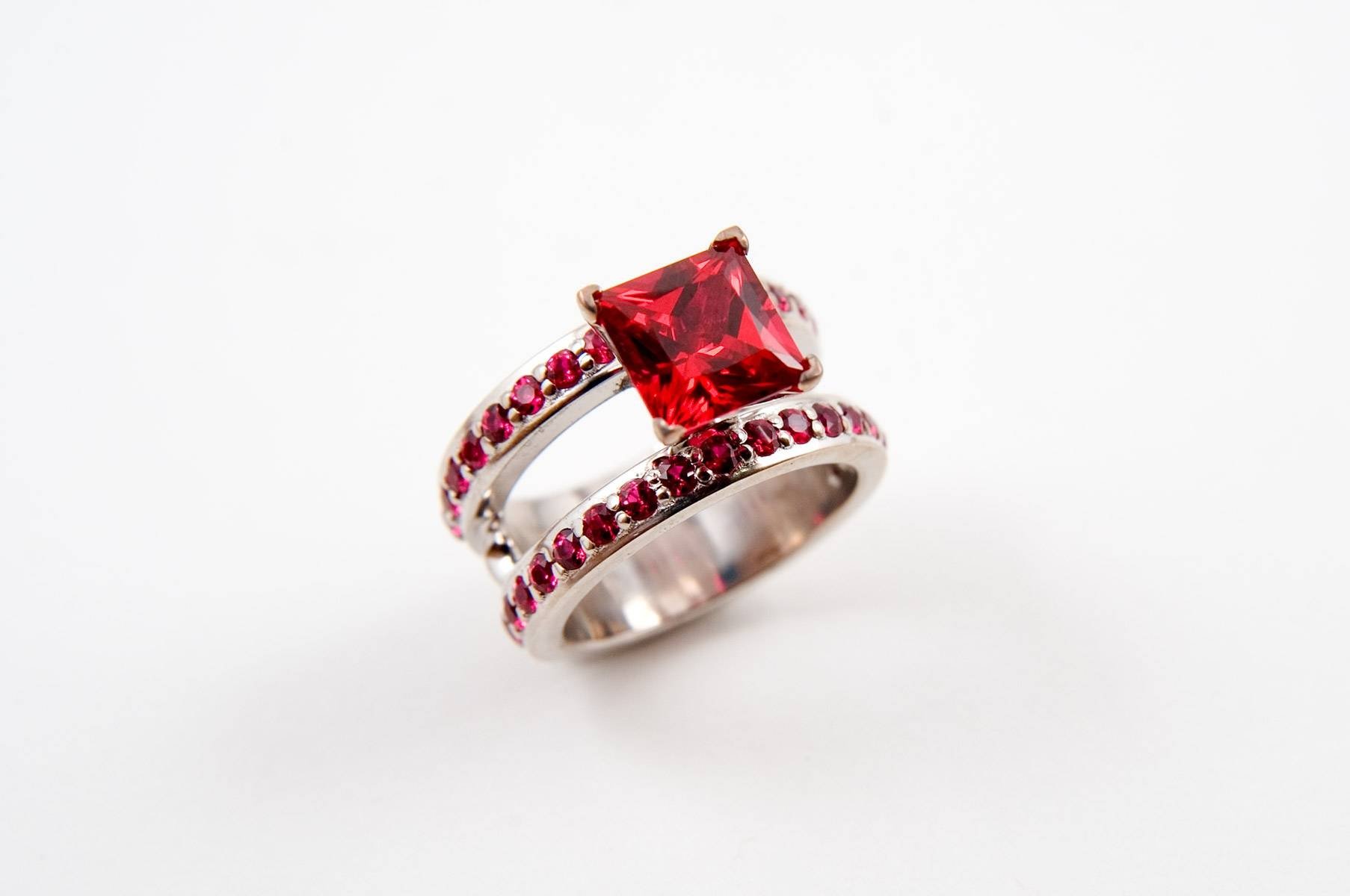 Wedding Rings : Cartier Engagement Rings Ruby Wedding Band Ruby In Most Up To Date Ruby Anniversary Rings (Gallery 9 of 25)