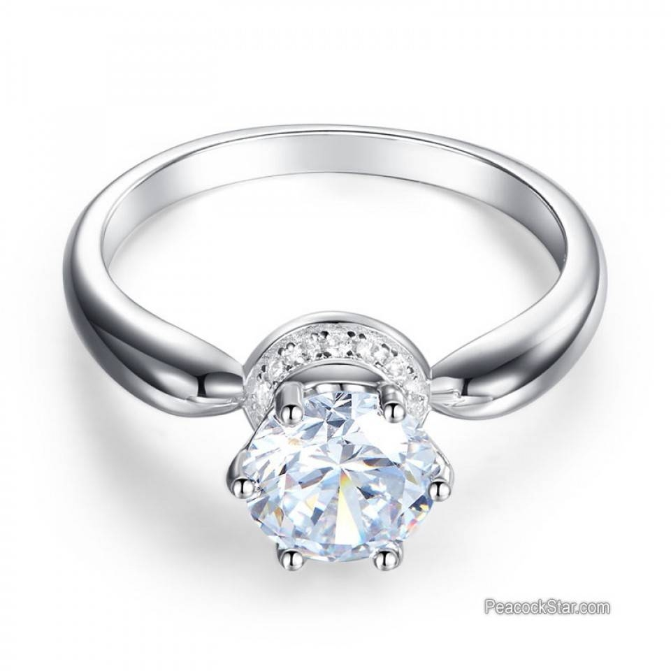 Wedding Rings : Costco 5 Stone Diamond Ring 3 Stone Princess Cut Regarding Current Five Stone Anniversary Rings (Gallery 22 of 25)