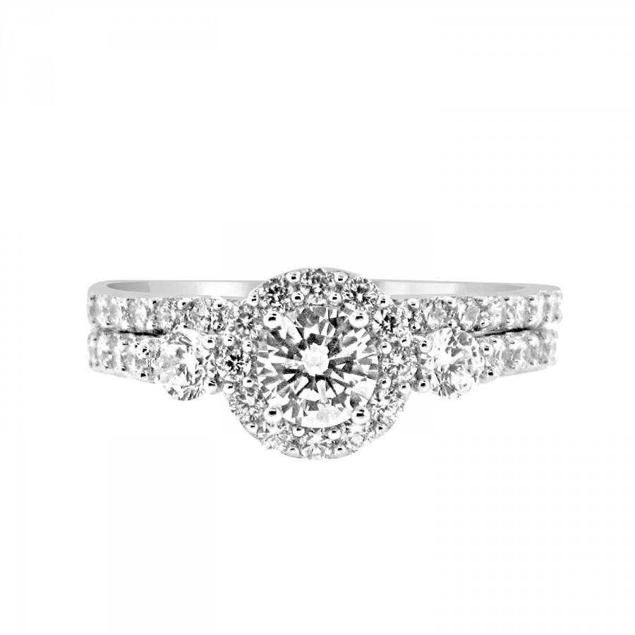 i opulent jewelers present diamond past white future wedding round rings chimento ring