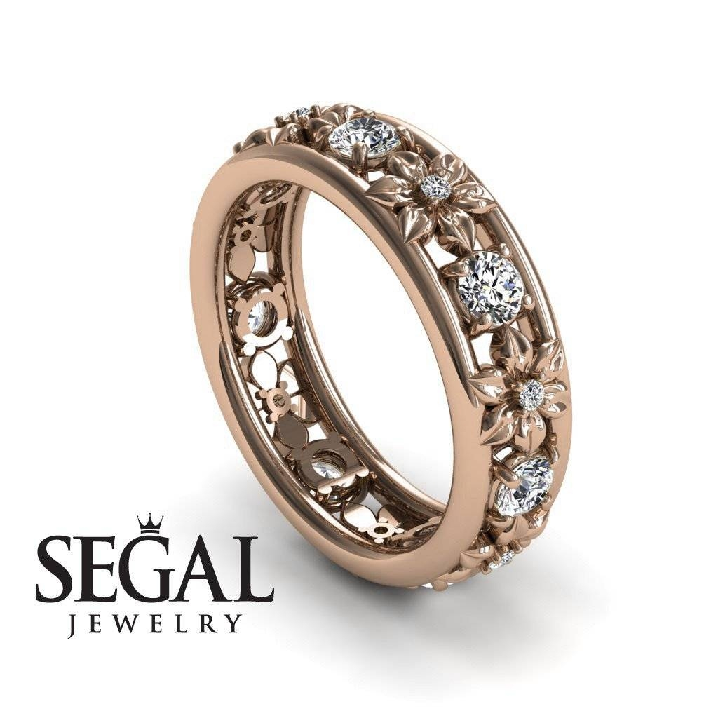 Wedding Rings : Vintage Anniversary Rings For Her Past Present Within 2017 10 Year Anniversary Rings For Her (View 15 of 15)