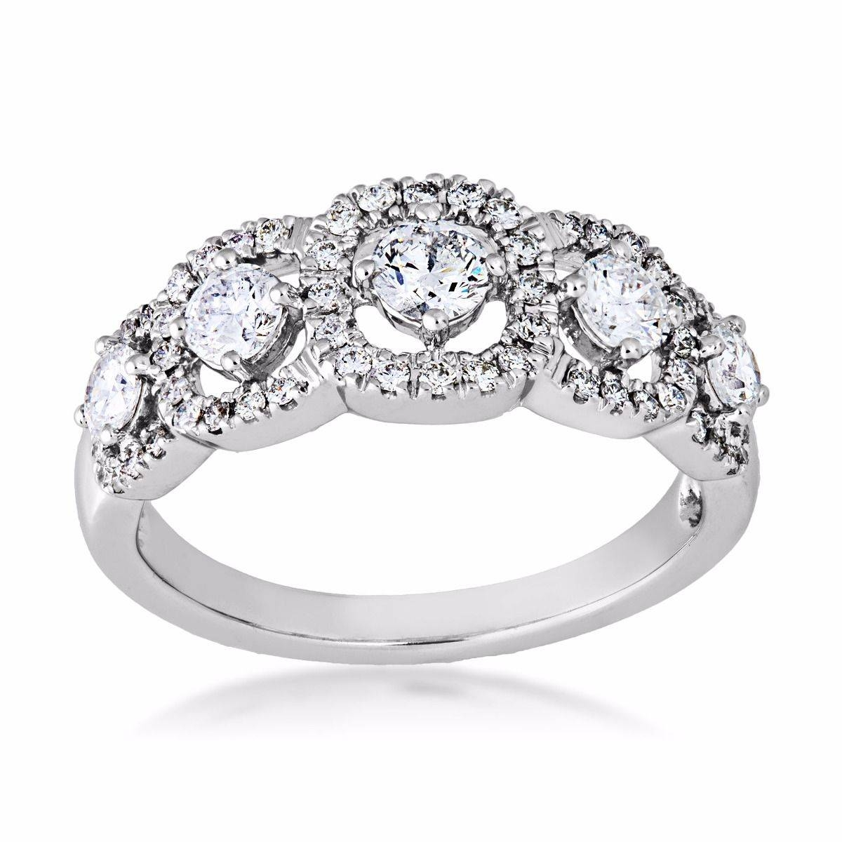 Women's Diamond Anniversary Bands – Shop Anniversary Rings, Bands For Best And Newest Ladies Anniversary Rings (Gallery 10 of 25)