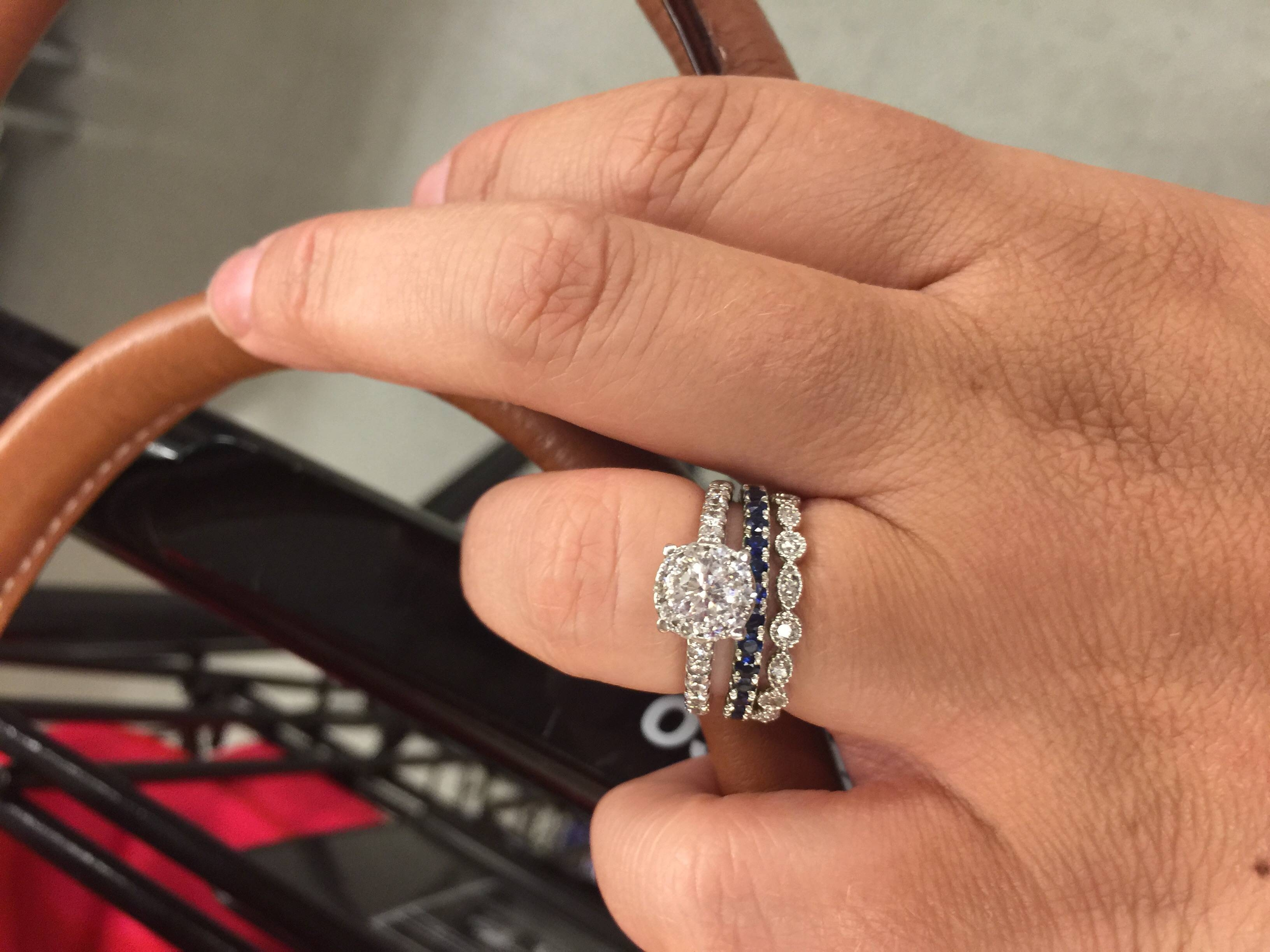 Your Original Wedding Band… – Weddingbee Regarding Best And Newest Blue Nile Anniversary Rings (Gallery 24 of 25)