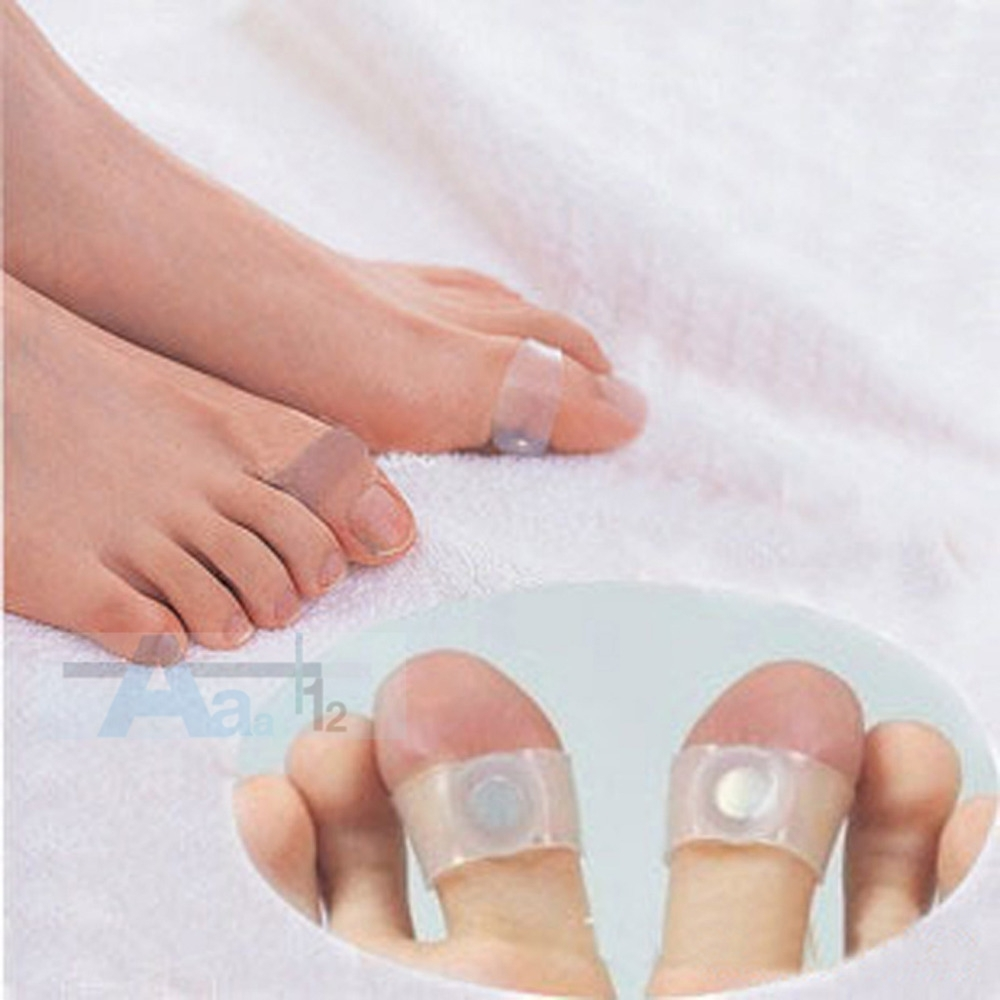 2 Pc Magnetic Silicon Foot Massage Toe Ring Weight Loss Slimming With Regard To 2017 Slimming Toe Rings (View 13 of 15)