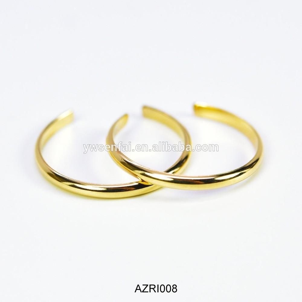 2017 Trend Yellow Gold Toe Rings Custom Open Metal Gold Finger With Latest Yellow Gold Toe Rings (View 3 of 15)