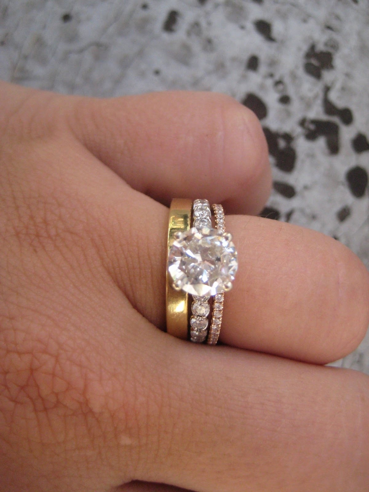 30 Beautiful Three Ring Wedding Set – Wedding Idea For Most Current Walmart Toe Rings (Gallery 8 of 15)
