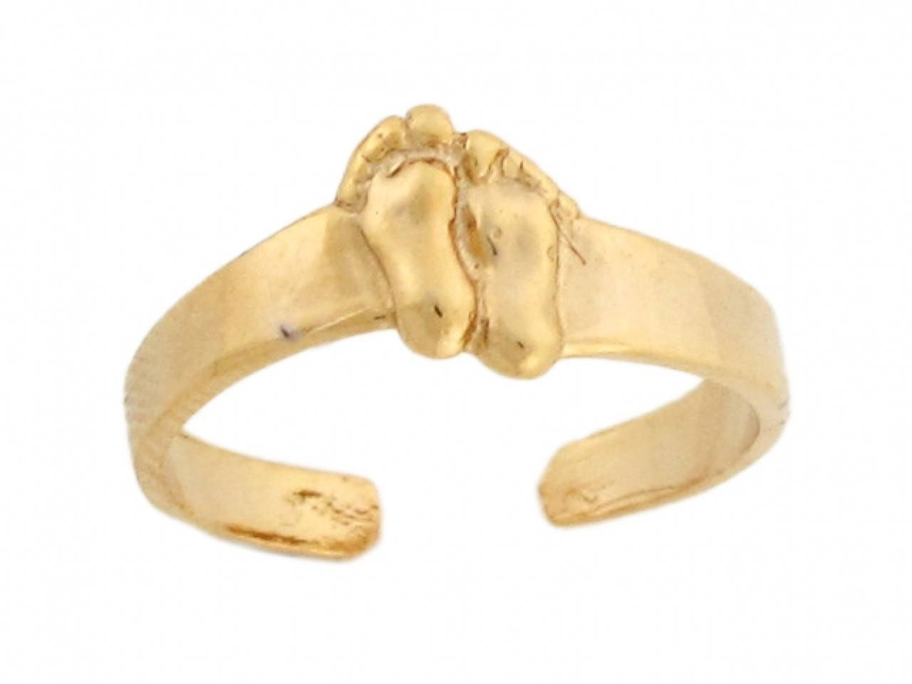 31 Most Wanted Stunning Gold Toe Rings For Women | Eternity Jewelry In Most Recently Released 10k Gold Toe Rings (View 3 of 25)