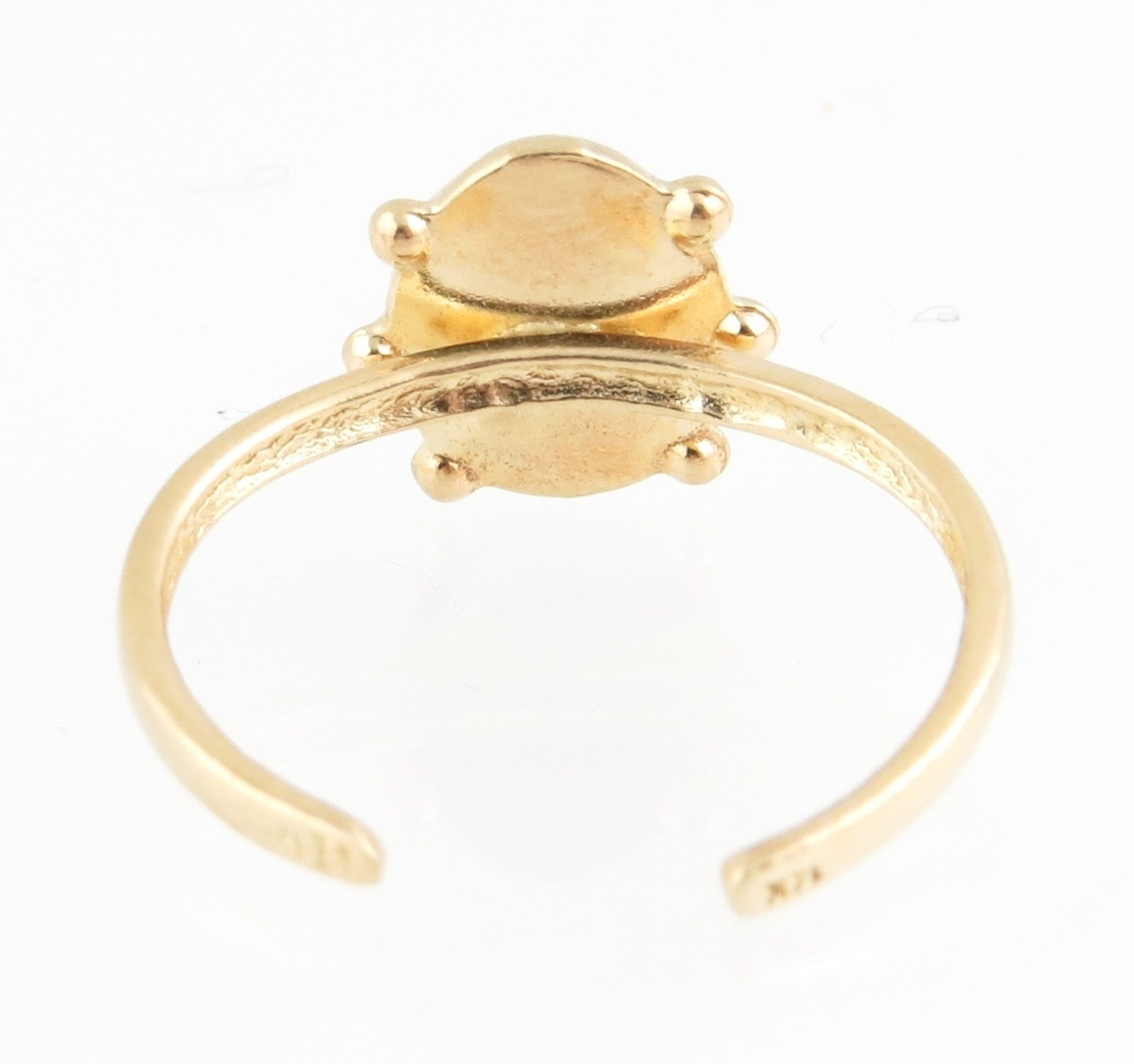 31 Most Wanted Stunning Gold Toe Rings For Women | Eternity Jewelry Regarding Most Up To Date Rose Gold Toe Rings (Gallery 8 of 15)