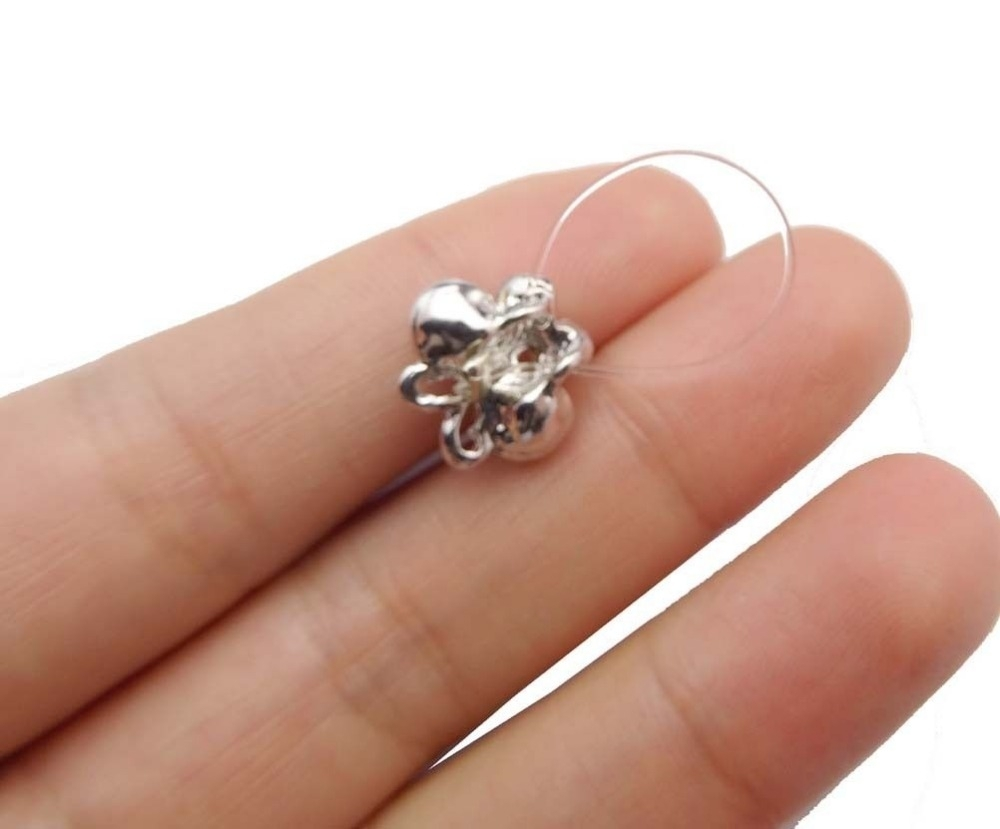 6 Pieces Elastic String Adjustable Invisible Crystal Toe Rings Inside Most Current Crystal Toe Rings (View 8 of 15)