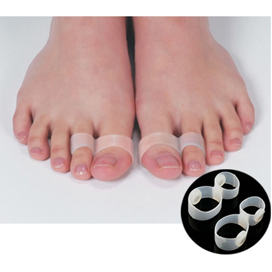 6Pcs/3Pairs Foot Massager Double Toe Rings Slimming Products In Most Popular Double Toe Rings (Gallery 5 of 15)