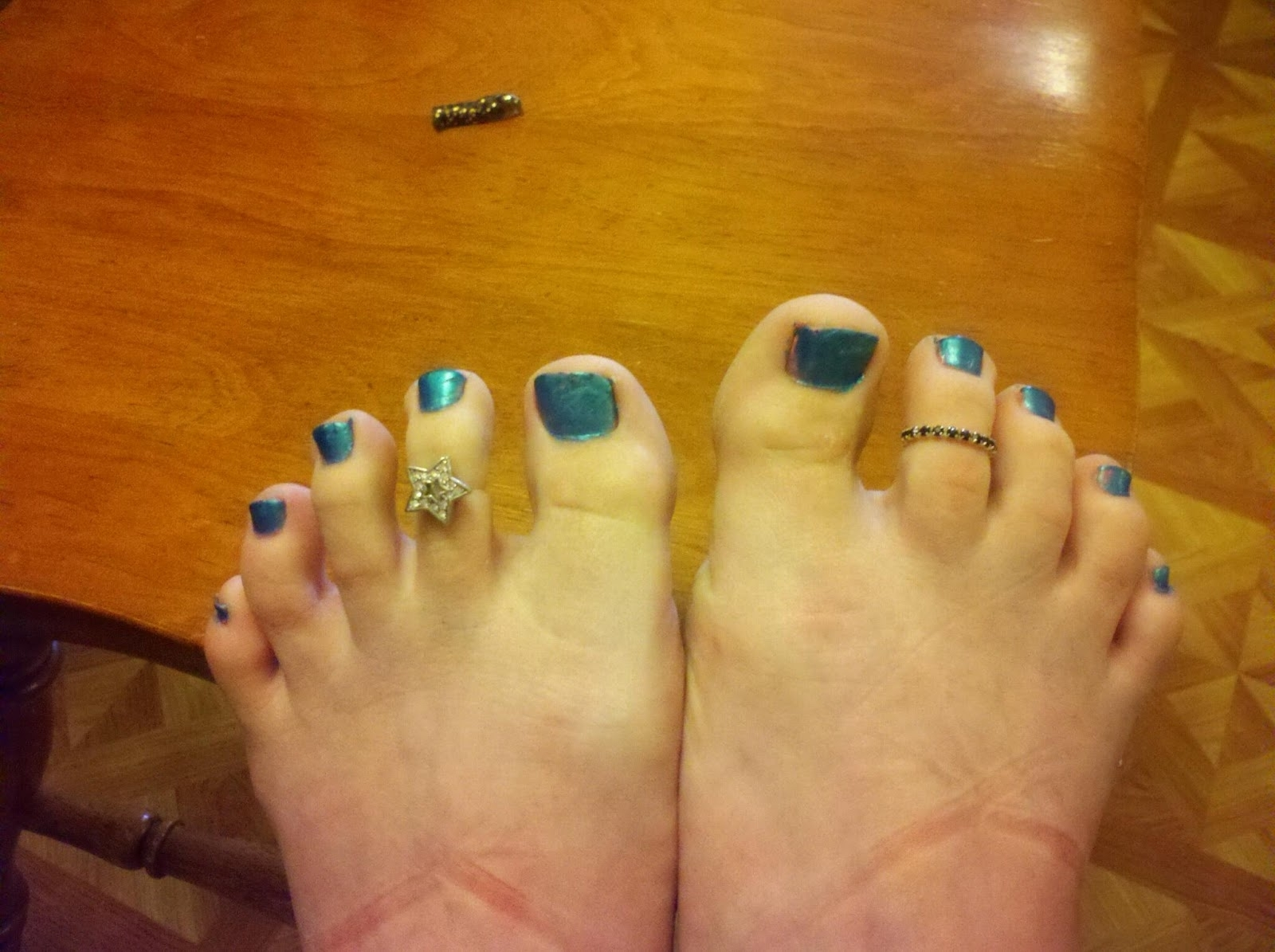 A Fledgling Writer (And Bipolar Sufferer): My Toe Rings In 2018 Pretty Toe Rings (View 15 of 15)