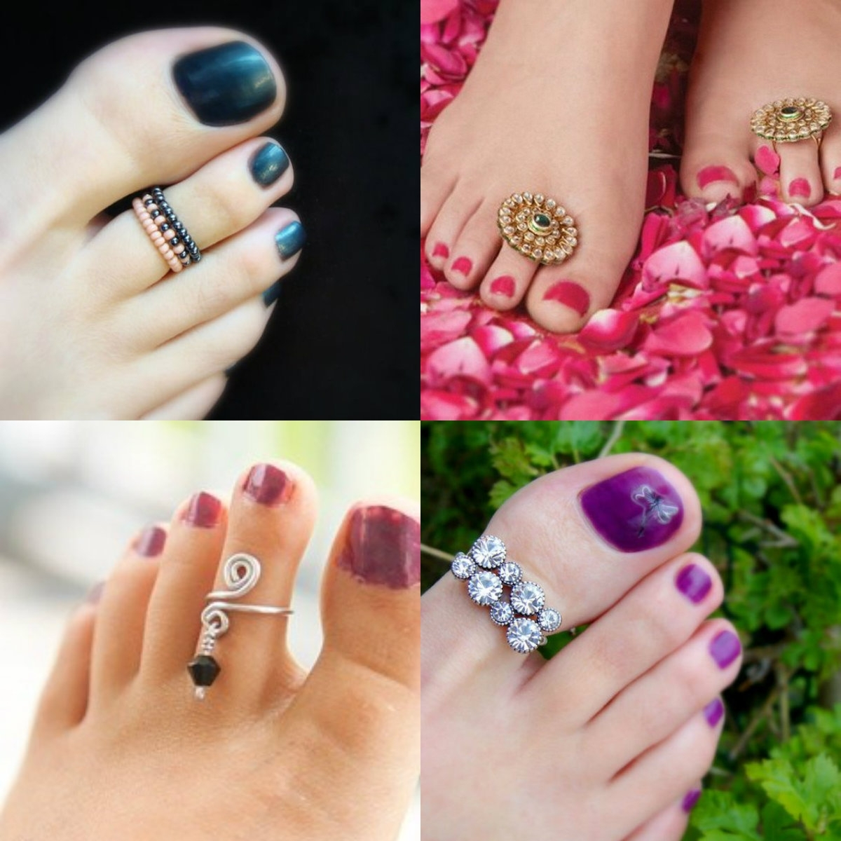 Affordable & Comfortable Toe Rings For Women | Trends4us Intended For Most Recently Released Indian Toe Rings (View 9 of 15)