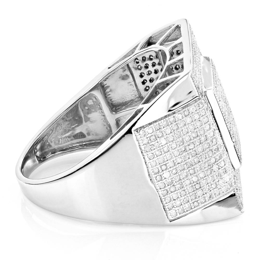Affordable Mens Rings 10K Gold Diamond Ring 1.30Ct With Current 10K Gold Toe Rings (Gallery 23 of 25)