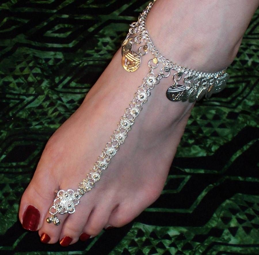 Anklets And Toe Rings, Exotic And Sexy. | Personal Touch Throughout Best And Newest Anklets With Toe Rings (Gallery 14 of 16)