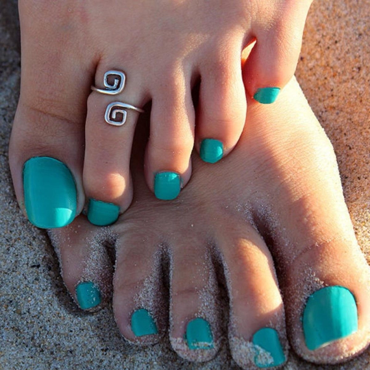 Beach Pretty And Anklets Toe Rings | Oblacoder Within Latest Pretty Toe Rings (View 2 of 15)
