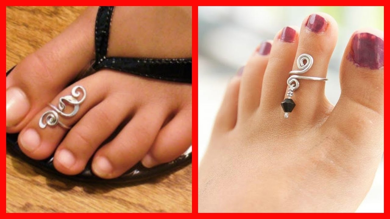 Beautiful Silver Toe Rings With Price For Stylish Women & Girls Throughout Latest Toe Rings For Women (View 5 of 15)